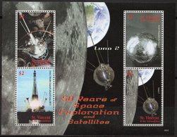 St Vincent 2008 - Exploration Spatial, Satellites, Luna 2 - BF 4 Val Neuf // Mnh - St.Vincent & Grenadines