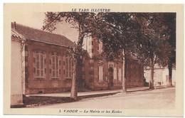 Vaour La Mairie Et Les Ecoles - Vaour