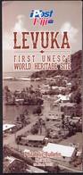 Fiji 2015 / LEVUKA, First UNESCO World Heritage Site / Prospectus, Leaflet, Brochure, Bulletin - Fiji (1970-...)