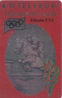 TARJETA DE DINAMARCA DE LAS OLIMPIADAS DE TIRADA 11000 (SHIP) (OLYMPISCHE SPIELE) HIPICA - CABALLO - HORSE - Dinamarca