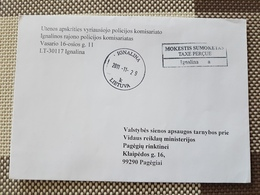 Lithuania Litauen Cover Sent From Ignalina To Pagegiai 2011 - Lituania