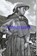 111008 PERU PISAC COSTUMES NATIVE INDIAN GIRL POSTAL POSTCARD - Perù