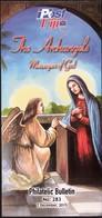 Fiji 2015 / The Archangels, Messengers Of God / Prospectus, Leaflet, Brochure, Bulletin - Fidji (1970-...)