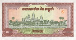 Cambodia 2.000 Riels, P-45 (1995) - UNC - Kambodscha