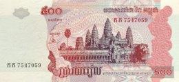 Cambodia 500 Riels, P-54a (2002) - UNC - Kambodscha