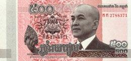 Cambodia 500 Riels, P-66 (2014) - UNC - Kambodscha