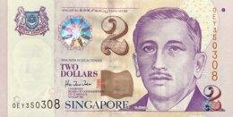 Singapore 2 Dollars, P-38 (1999) - UNC - Singapore