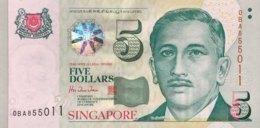 Singapore 5 Dollars, P-39 (1999) - UNC - Singapore