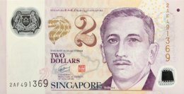 Singapore 2 Dollars, P-46a (2005) - UNC - Singapore