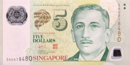 Singapore 5 Dollars, P-47b (2005) - UNC - Singapore