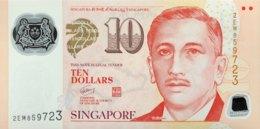 Singapore 10 Dollars, P-48c (2005) - UNC - Singapore