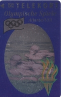 TARJETA DE DINAMARCA DE LAS OLIMPIADAS DE TIRADA 6000 (SHIP) (OLYMPISCHE SPIELE) NATACION - Dinamarca