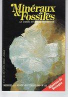 Revue Minéraux & Fossiles - Le Guide Du Collectionneur N°122 - Sept. 1985 - Minerals