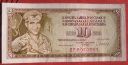 10 Dinara 1981 (WPM 87b) - Jugoslawien