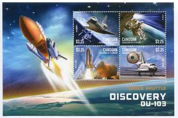 St Vincent (Canouan) 2015 - Navette Spatial Discovery, Astronautes II - BF 4 Val Neuf // Mnh - St.Vincent & Grenadines