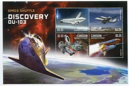 St Vincent (Canouan) 2015 - Navette Spatial Discovery, Astronautes I - BF 4 Val Neuf // Mnh - St.Vincent & Grenadines