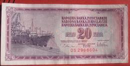 20 Dinara 1978 (WPM 88a) - Jugoslawien