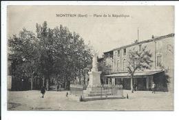 Montfrin Place De La République - France