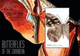 St Vincent (Canouan) 2011 - Faune, Papillons Des Caraïbes - BF Neuf // Mnh - St.Vincent & Grenadines