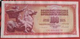 100 Dinara 1986 (WPM 90c) - Jugoslawien