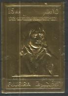 FUJEIRA - MNH - Famous People - Napoleon - Imperf. - Gold - Napoléon
