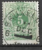 9W-914: 6 BRUXELLES 6  / 31 DEC ▄▄ :Poste Restante: N°45: - 1869-1888 Lion Couché