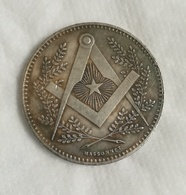 Medaille Mont SINAI - Franc Maçon -  Franc Maçonnerie - Monarquía / Nobleza