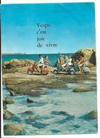 Publicité Dépliant Ancien VESPA C'est La Joie De Vivre 6 Pages 2 Scans - Transportation