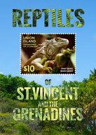 St Vincent (Union Island) 2015 - Faune, Reptiles Des Caraïbes, Iguane - BF Neuf // Mnh - St.Vincent & Grenadines