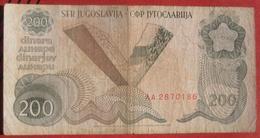 200 Dinara 1990 (WPM 102) - Jugoslawien