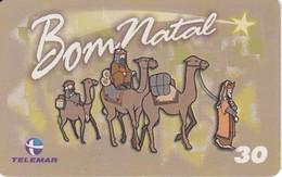 TARJETA DE BRASIL DE NAVIDAD (CAMELLO-CAMEL) CHRISTMAS - Christmas