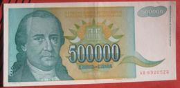 500000 Dinara 1993 (WPM 131) - Jugoslawien