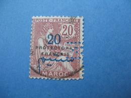 Perforé Perfin Maroc, Perforation :   M16    à Voir - Morocco (1891-1956)
