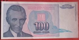 100 Dinara 1994 (WPM 139) - Jugoslawien