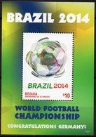 St Vincent (Bequia) 2014 - Mondial De Foot, Rio 2014 - BF Neuf // Mnh - St.Vincent & Grenadines
