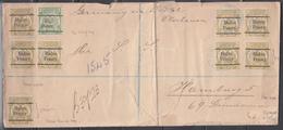 Carta, Trasval. Múltiple Franqueo. - África Del Sur (...-1961)