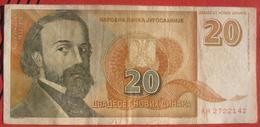 20 Dinara 1994 (WPM 150) - Jugoslawien