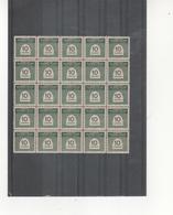 Marruecos-383 Cifras Bloque De 25 Sellos Nuevo Sin Fijasellos Según Foto - Marruecos (1956-...)