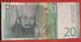 20 Dinara 2000 (WPM 154) - Jugoslawien