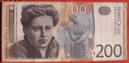 200 Dinara 2001 (WPM 157) - Jugoslawien