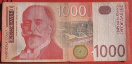 1000 Dinara 2001 (WPM 158) - Jugoslawien