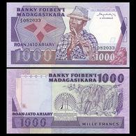 MADAGASCAR. 1000 FRANCS. (1983/87). Pick 68. UNC/NEUF - Madagascar