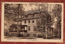 Calau, Zinnitz, Pniel Erholungshaus, Germania, Nach Nagold 1916 (72811) - Calau