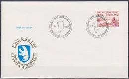 Grönland 1987 FDC Nr.172 Kunst ( D 462 ) Günstige Versandkosten - FDC