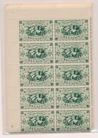 CP-358: REUNION: Lot Avec N°233/246**-252/259** En Blocs De 10 - Reunion Island (1852-1975)