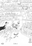 Albert DUBOUT - Editions Jean Dubout N'D 76 - Grivoises - Femme Forte - Chez God - Sextoys - Dubout