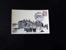 CACHET COMMEMORATIF  -  EXPOSITION DU 75 IEME ANNIVERSAIRE DE LA DESTRUCTION DE ST CLOUD  -  1946  - - Postmark Collection (Covers)