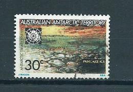1971 AAT Pancake Ice 30 Cent Used/gebruikt/oblitere - Australisch Antarctisch Territorium (AAT)