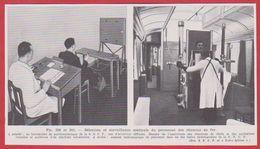 Sélection Et Surveillance Médicale Du Personnel Des Chemins De Fer. Document SNCF. Larousse Médical De 1974. - Vieux Papiers