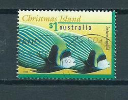 1995 Christmas Island $1.00 Fish,poisson,fische Used/gebruikt/oblitere - Christmaseiland